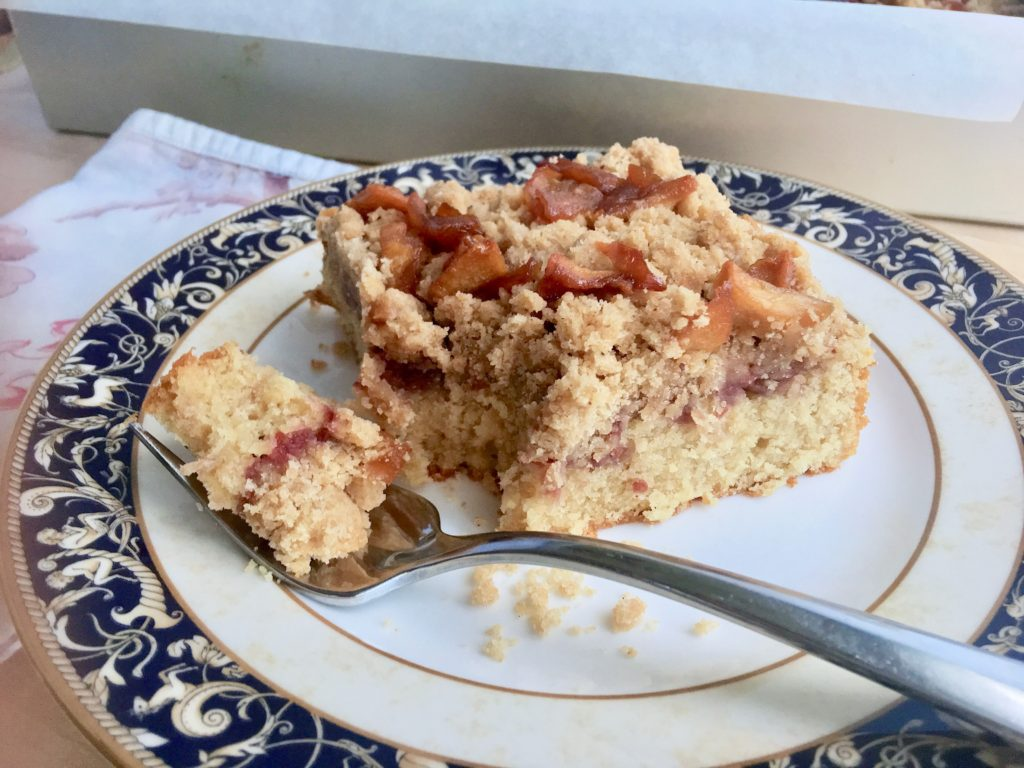 Apple Raspberry Coffee Cake