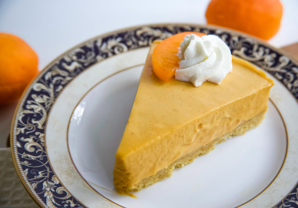 Apricot No Bake Cheesecake