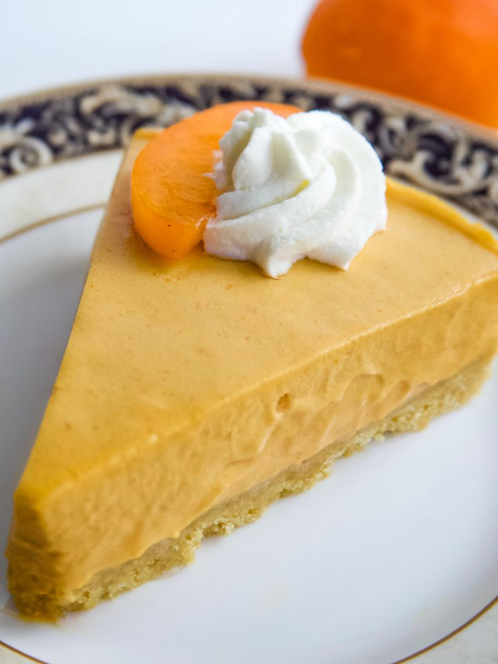 Apricot No Bake Cheesecake