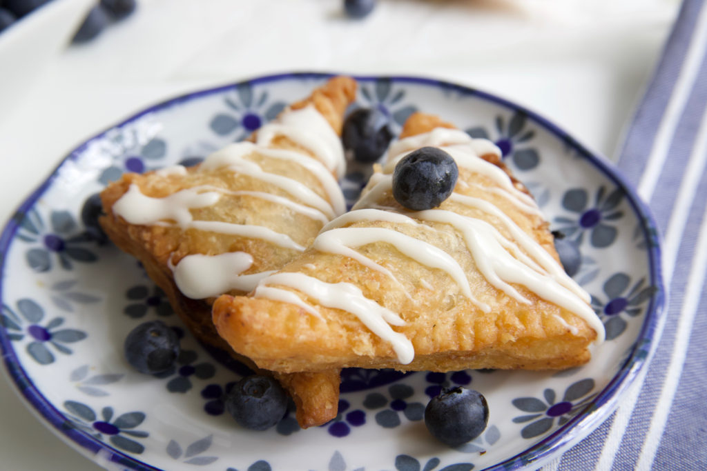 Fried Blueberry Pies