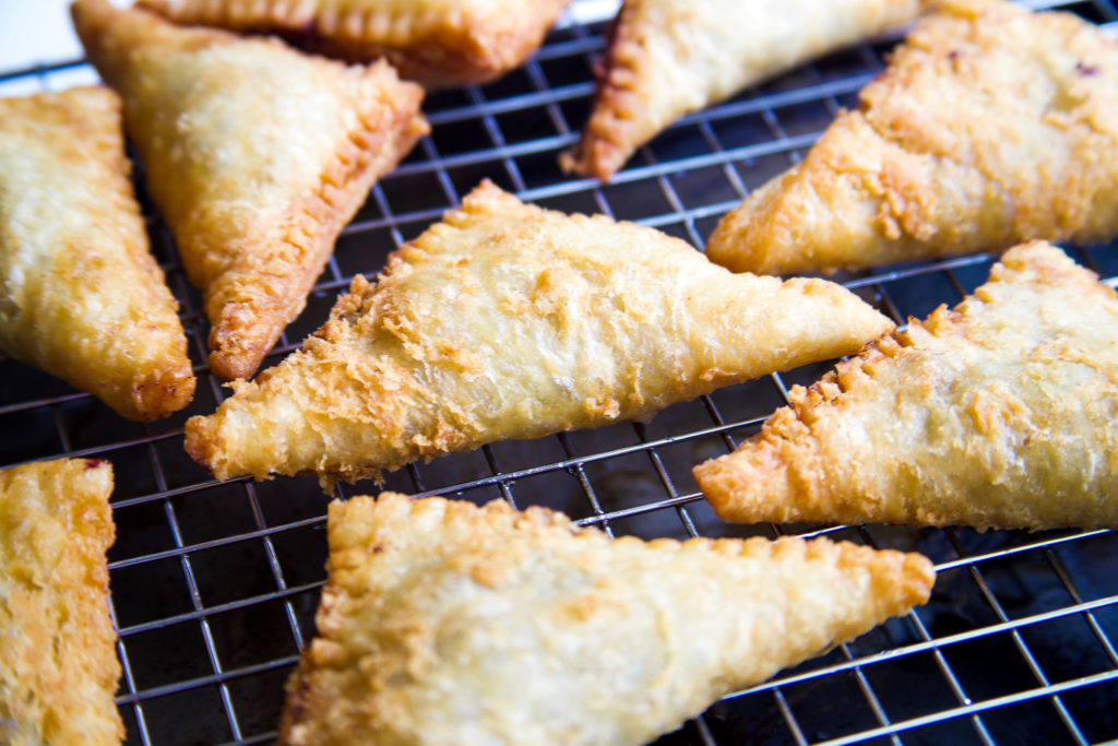 Fried Blueberry Hand Pies