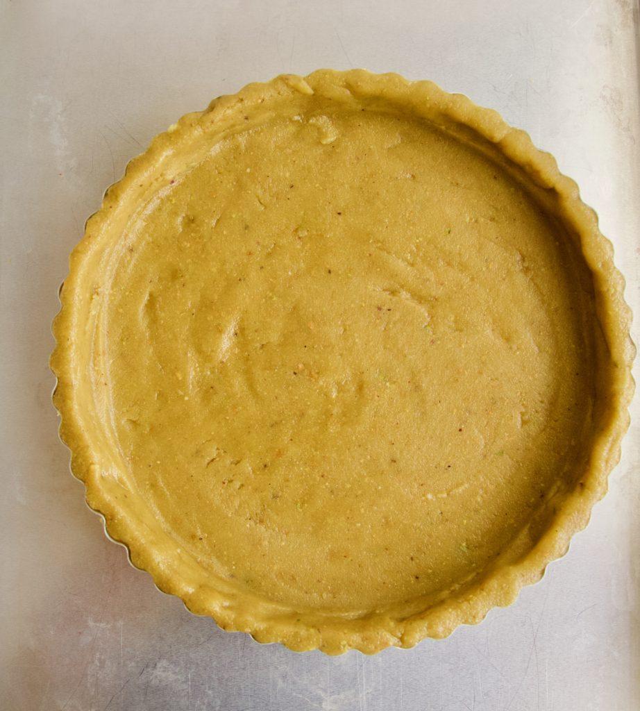Pistachio Tart Crust