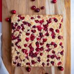 Cranberry Cake with Fresh Cranberries