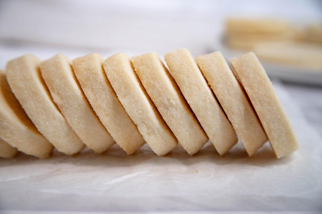 3 Ingredient Shortbread Cookie