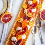 Blood Orange Curd Tart