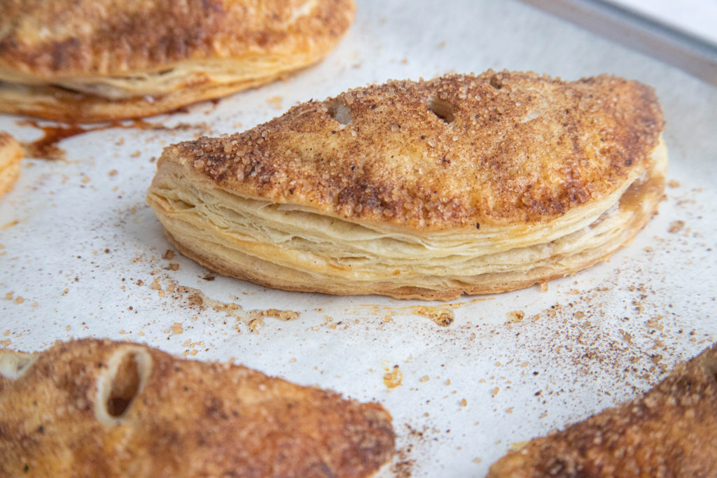 Double Apple Hand Pies