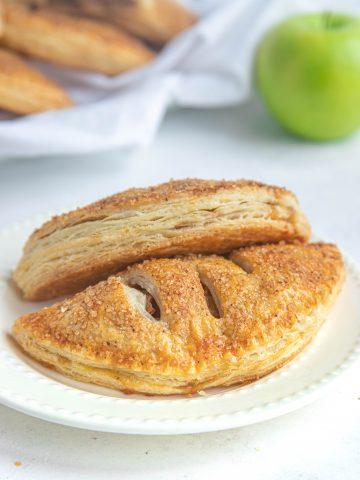 Double Apple Hand Pies
