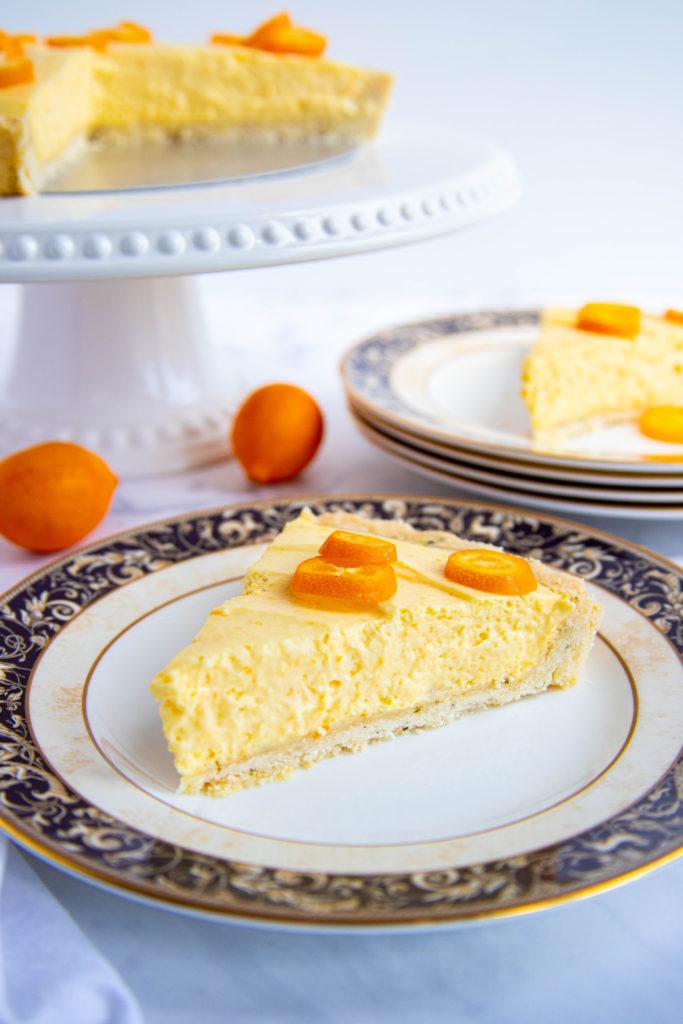 Kumquat Tart Slice