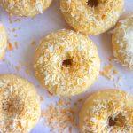 Toasted Coconut Doughnuts