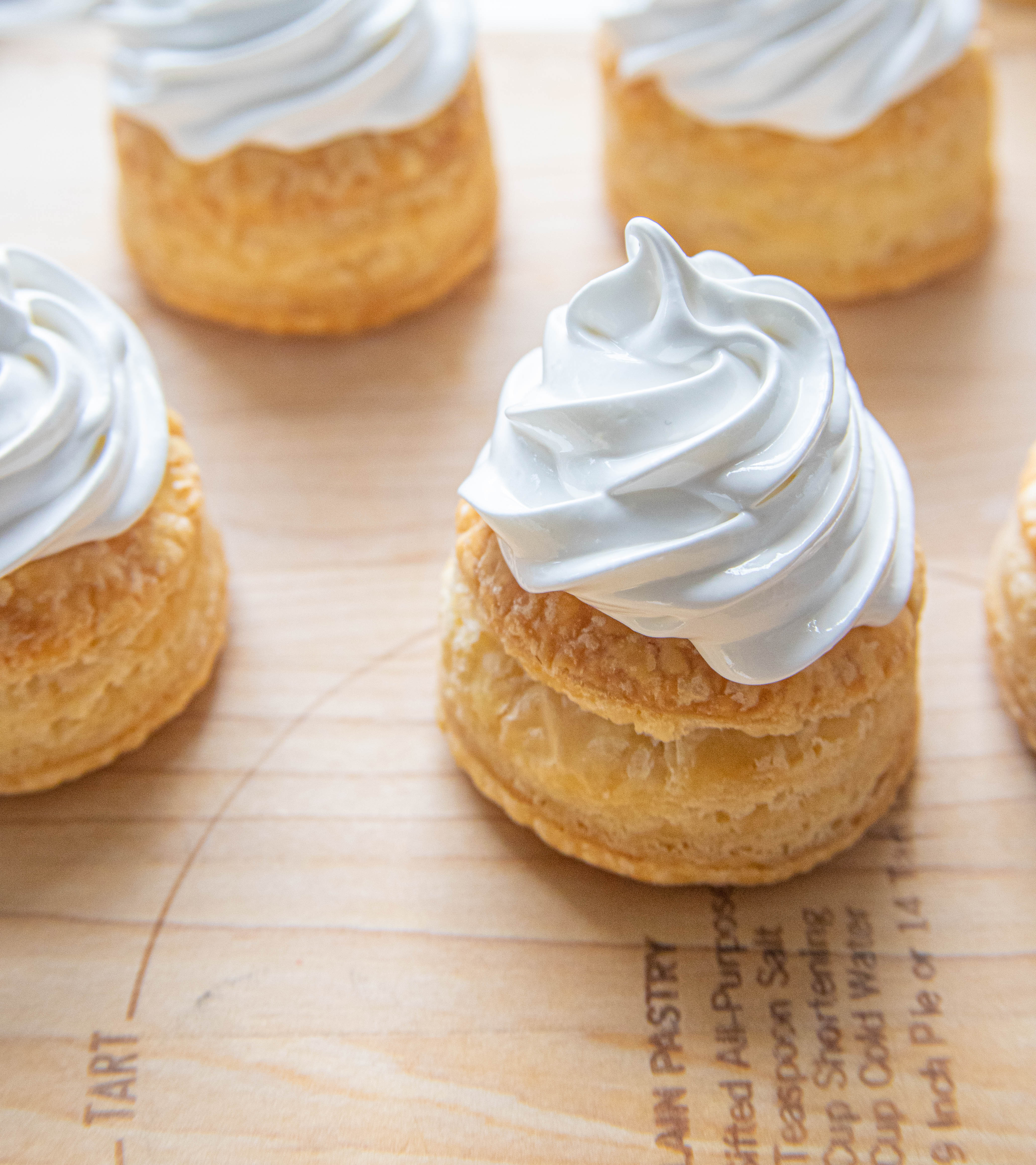 Puff Pastry Tart with Meringue