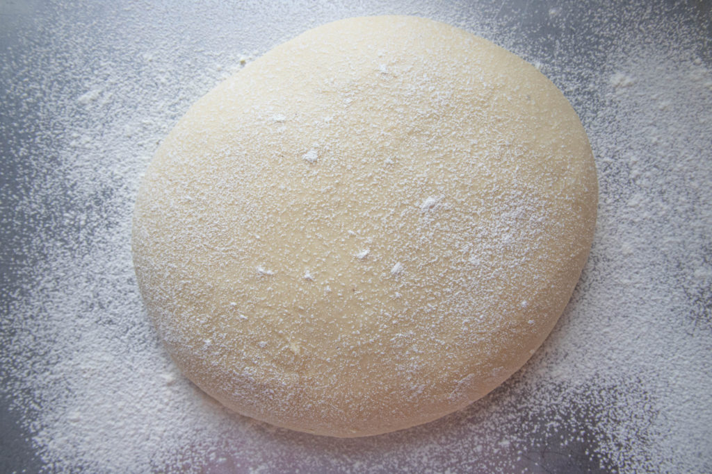 Yeast Doughnut Dough before the first rise