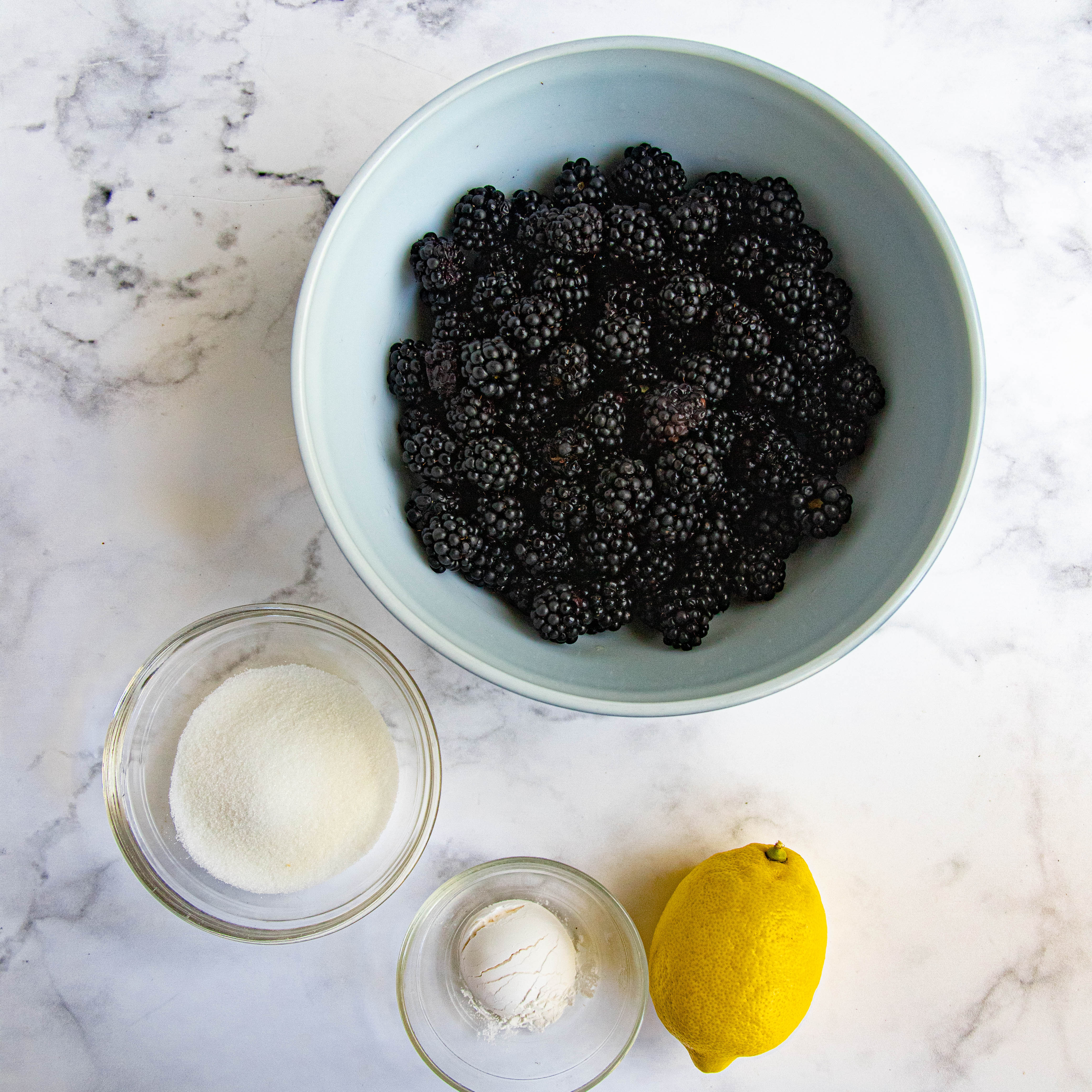 Blackberry Galette Ingredients