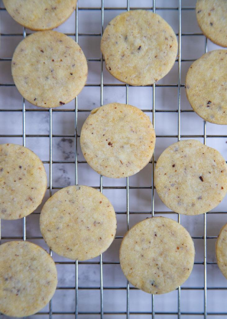 Hazelnut Sablee Cookies