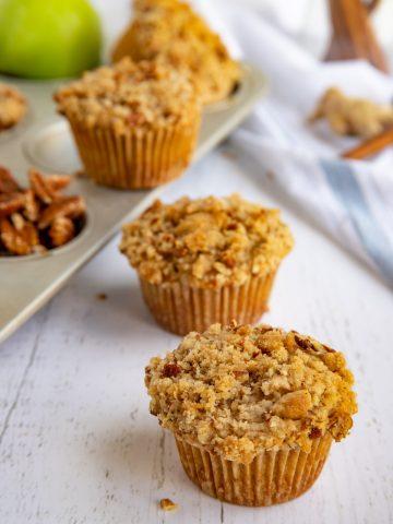 Apple Spice Streusel Muffins