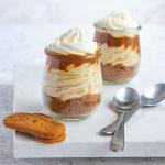 Gingerbread Cappuccino Cheesecake Jars