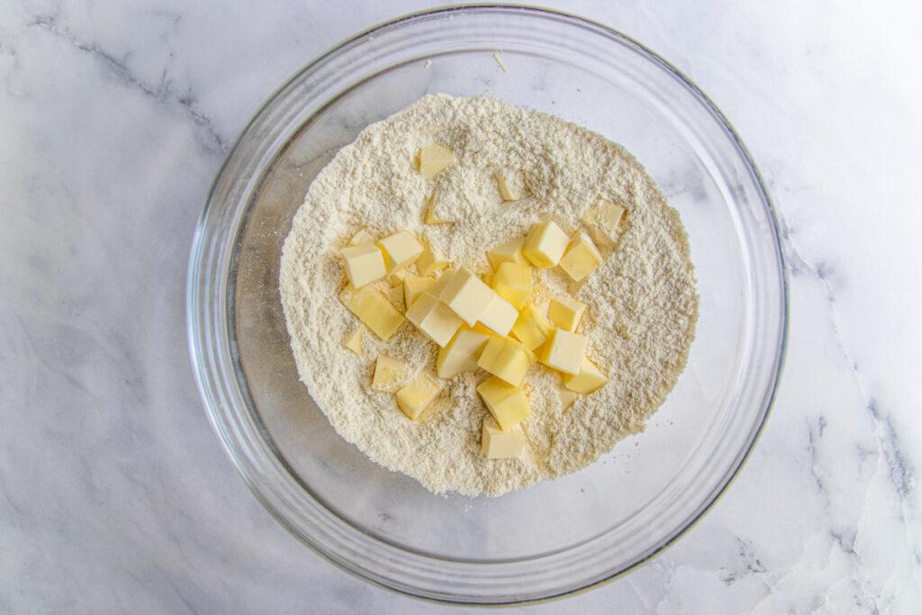 Pie Dough Recipe Step 1